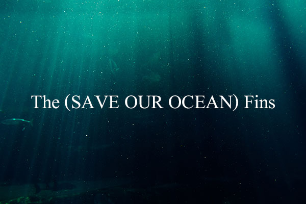 The (SAVE OUR OCEAN) Fins