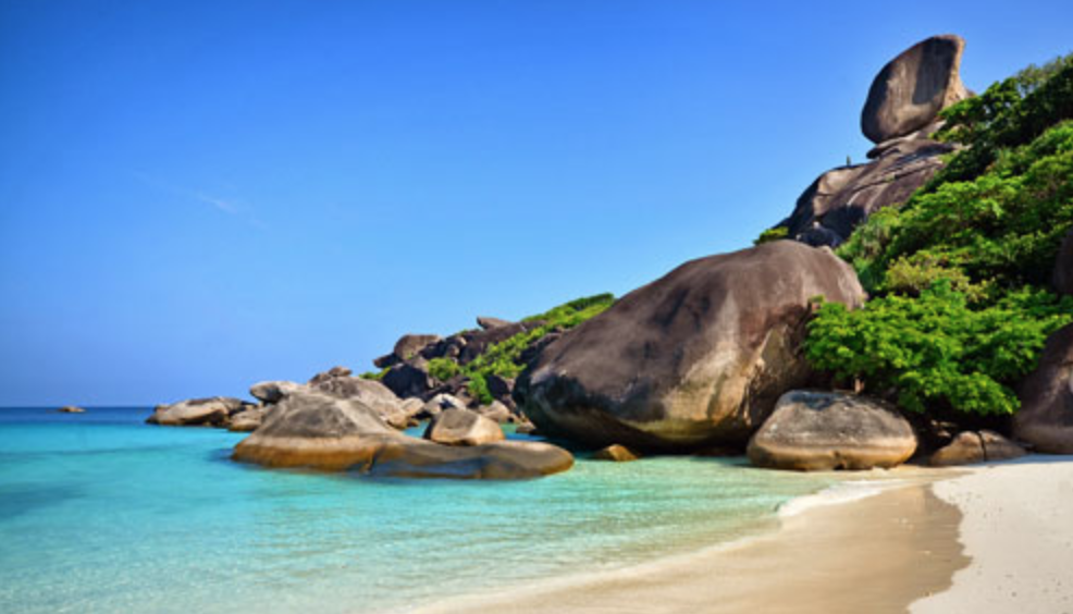 เกาะแปด มหัศจรรย์หินเรือใบ