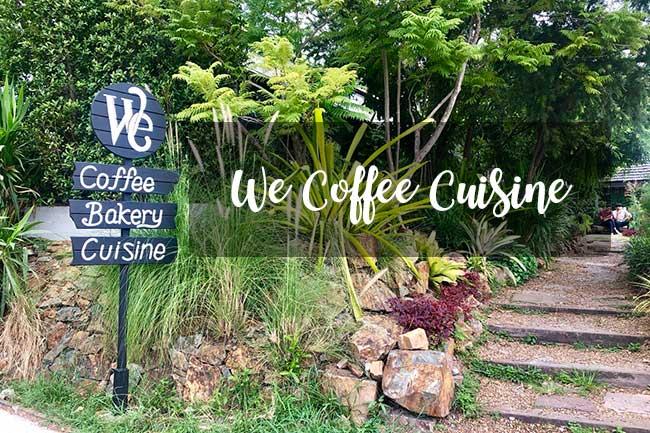 We Coffee Cuisine ร้านกาแฟบรรยากาศดี ที่บางแสน