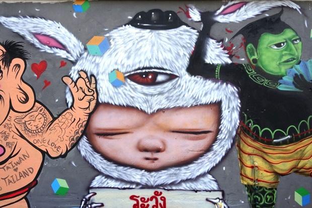 ถ่ายรูป เช็กอิน เก็บภาพ Street Art กับ 3 เมืองแห่งการท่องเที่ยว !