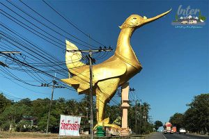ตำนานหงส์ยักษ์วัดห้วยลึก จังหวัดประจวบคีรีขันธ์ ที่เที่ยว ที่เที่ยวไทย ที่เที่ยวประจวบคีรีขันธ์ วัดห้วยลึก