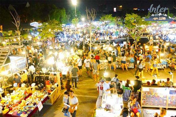 เดิน ช้อป ชิมที่ตลาดนัดกลางคืนในกรุงเทพฯ ที่เที่ยว ที่เที่ยวไทย ที่เที่ยวตลาดนัดกลางคืนในกรุงเทพ